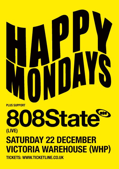 Happy Mondays, 808 State – FFRUKiT!