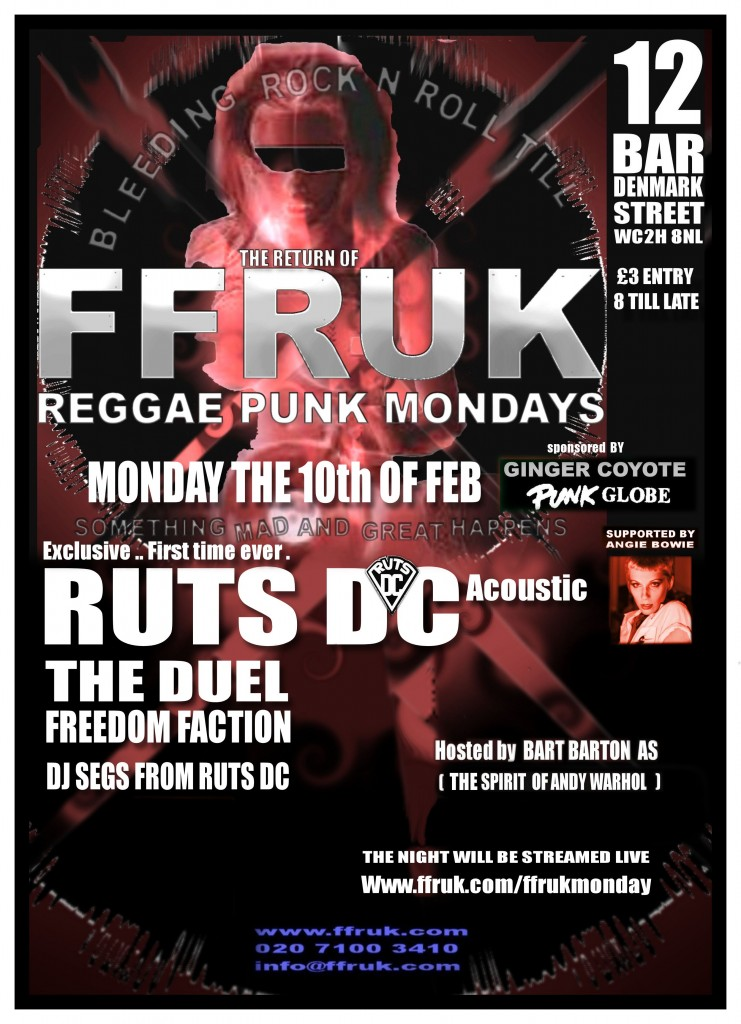 RUTS DC at FFRUK Reggae Punk