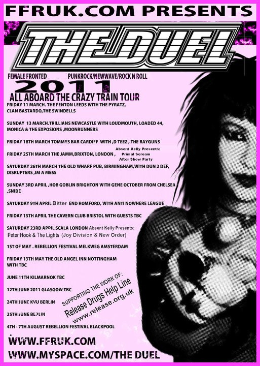 THE DUEL TOUR POSTER