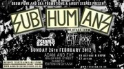SUBHUMANS - SCARRED SOCIETY - MEAT HOOK - THE KNOBBERS