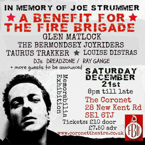 Firefighters benefit flyer
